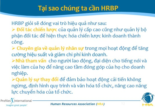 HRPB Tai sao chung ta can HRBP