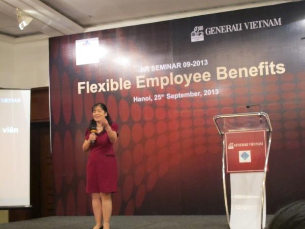 Mrs. Kim Anh - Phó chủ nhiệm của VNHR.
