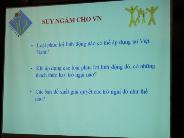 VNHR - Phúc lợi linh động suy ngẫm cho Việt Nam