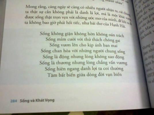 Song & Khat vong - P284